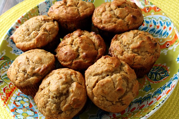 9236230670 dfc17347d9 z Monday Muffins, Secret Recipe Style: Peanut Butter Banana
