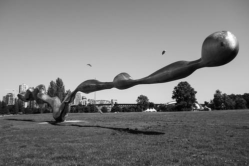 Sculpture in Vanier Park