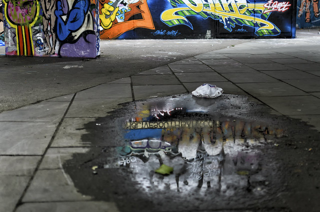 Undercroft in Reflection