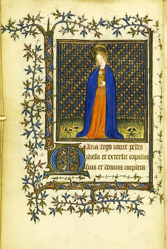 003-Horae Beatae Virginis Mariae…4v- Biblioteca Nacional de Varsovia