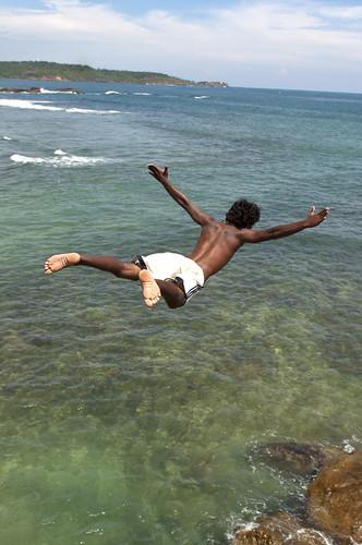 Geronimo Dive in Ocean
