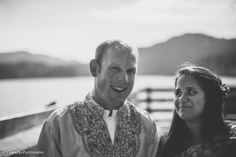 bride groom orcas island wedding