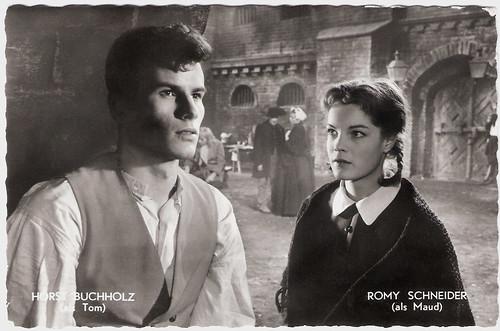 Horst Buchholz, Romy Schneider