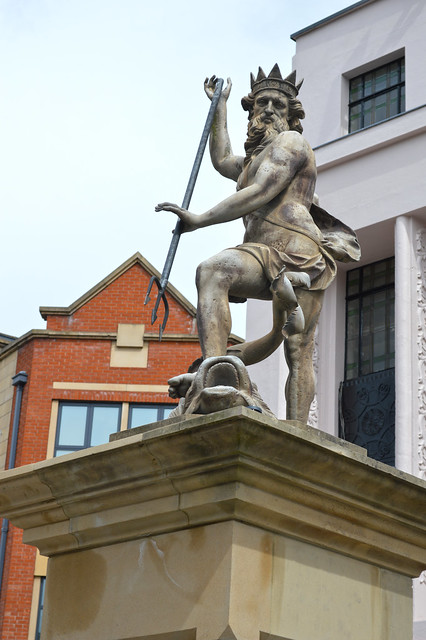 Statue of Neptune, Market Place