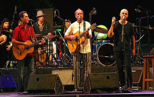 Leo Minax - Jorge Drexler - Javier Ruibal -- Festival Etnosur  2005