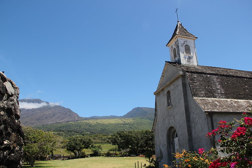 St. Joseph's Church & Kaupo Gap by kahunapulej