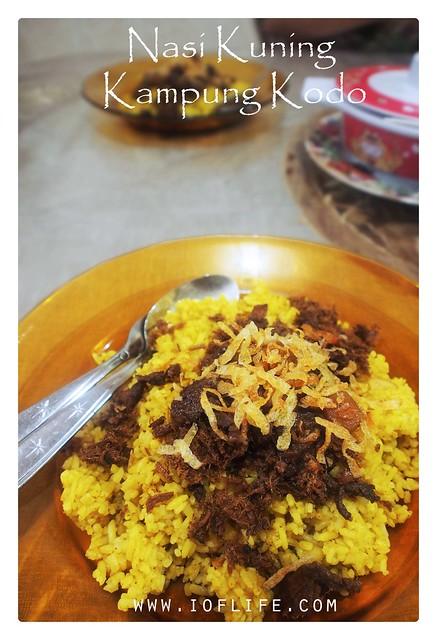 nasi kuning_kampung kodo