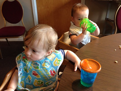 Babies at Ramada Breakfast