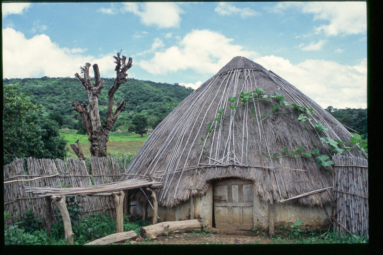 Senegal - Une hutte bassari