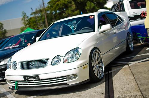 lexus gs aristo on HRE wheels