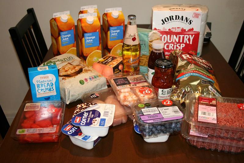 ruokaostokset englannissa