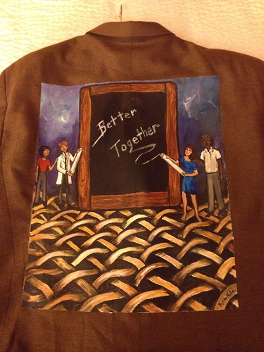 """Better Together"" a jacket for Bruce Ramshaw"