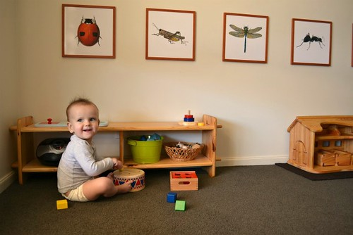 Montessori Baby-Toddler Room (Photo from How We Montessori)