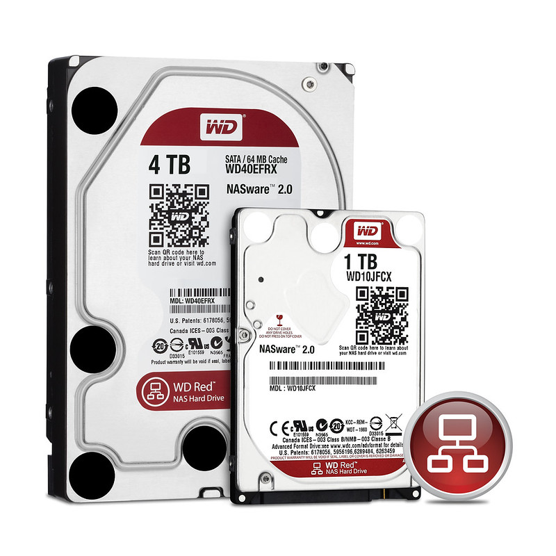 WD Red – NAS Hard Drives