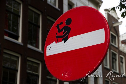 silly sign/street art