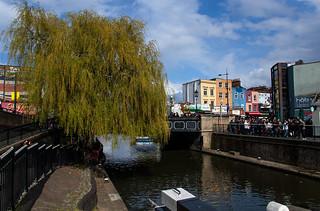 Regent's Canal et Camden Hight Street