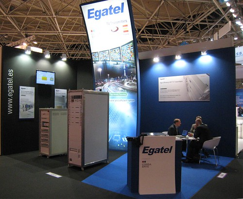 Egatel presents its latest innovations in broadcasting in Amsterdam