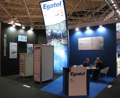Egatel presenta en Amsterdam sus últimas novedades en radiodifusión