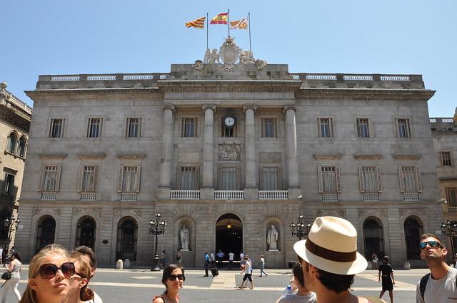 Generalitat of Catalonia Palace - Barcelona
