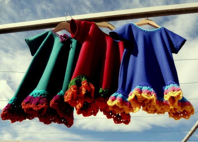 Vestidos Olas de Rocío al viento