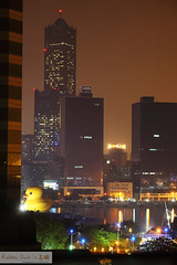 Rubber Duck in kaohsiung -night