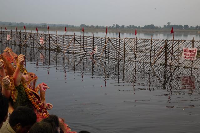 Dura Puja on the Yamuna-21
