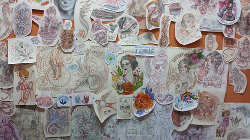 Pupa Tattoo at work!! by Marzia PUPA Tattoo