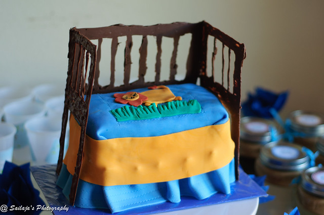 Crib Cakes For Baby Shower