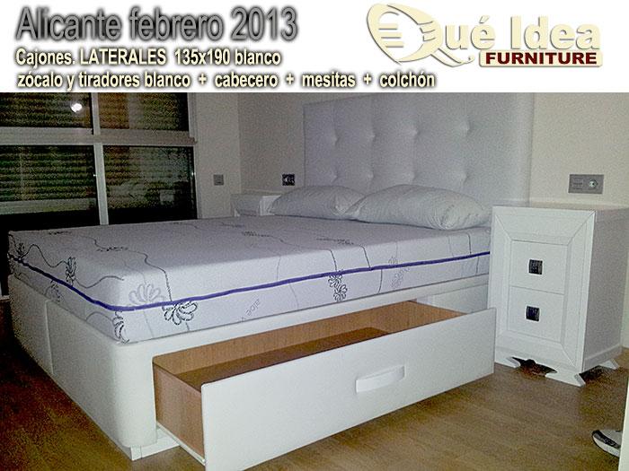 cama con cajones Alicante
