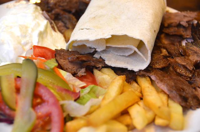 La pinta de nuestro Kebab en Estambul