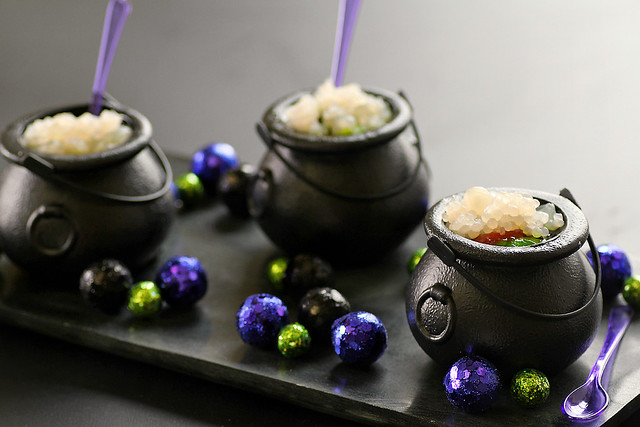 Halloween Witch's Brew Jello Shots Recipe by 1 Fine Cookie http ...