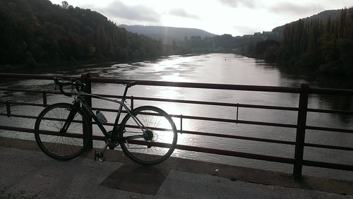 Riding along the Mosel