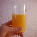 1. fruit: freshly squeezed orange juice for breakfast. // #FMSphotoaday #photooftheday #photoadaynov @fatmumslim