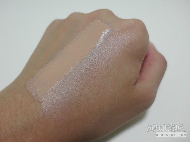 Diorsnow UV Shield BB Creme swatch 3