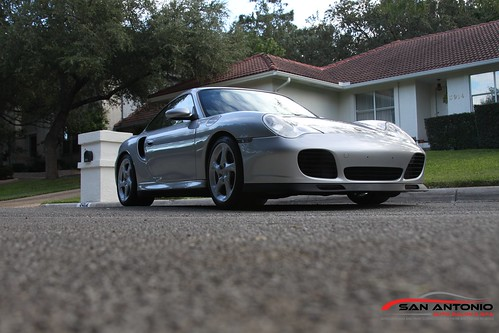 Porsche 911 Turbo 996 San Antonio S Paint Correction