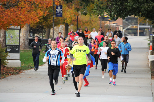 Fall Festival Halloween Howl run