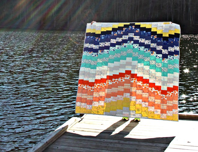 Sunset Quilt -- Sparkle