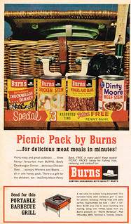 Vintage Ad #2,313: Picnic Pack by Burns