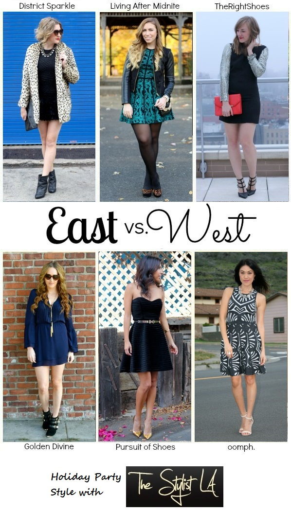 Living After Midnite: East vs. West Style: Holiday Party with The Stylist LA