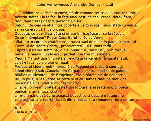 Jules Verne vs Dumas - tatal