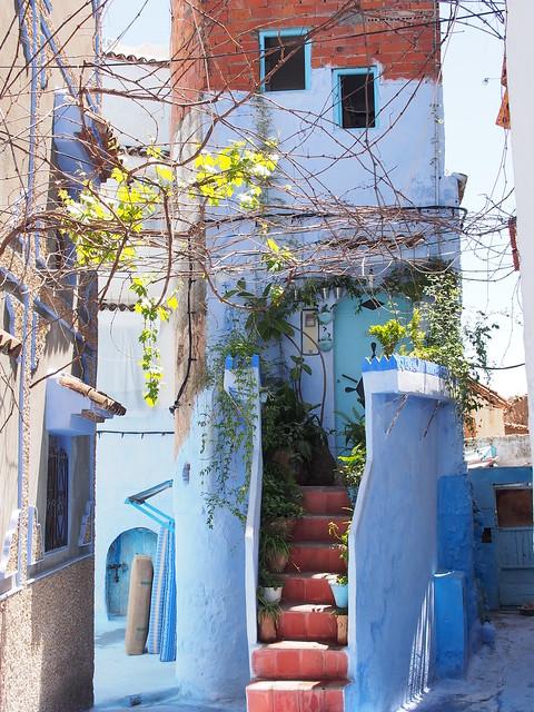 藍白小城CHEFCHAOUEN-街景