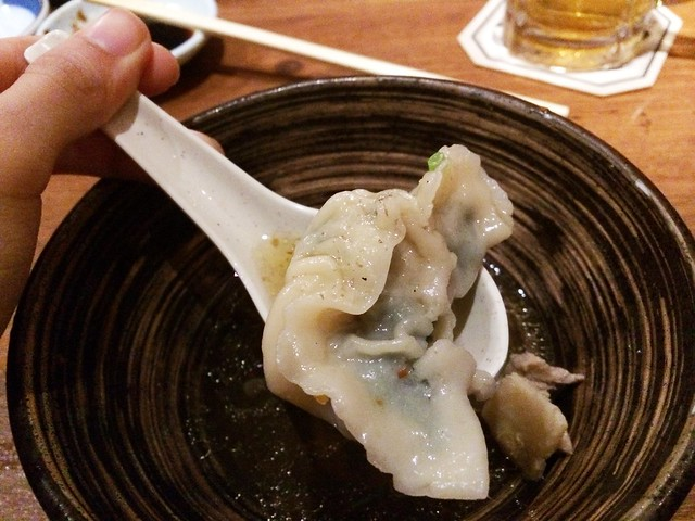Dumpling Soup, Omakase @ Teppei