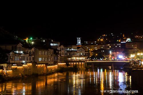 Amasya de noche