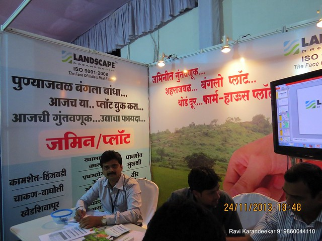 www.landscapeindia.org - Landscape Belapur Navi Mumbai - Baner Pune - Land Developers -  Pune Property Exhibition, Times Property Expo 'Investment Festival 2013', 23rd & 24th November 2013
