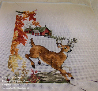100_8987 - Autumn Splendor - Designer - Stoney Creek - Progress 11-25-2013