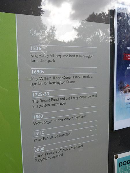 histoire de kensington park