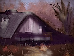 Old Tobacco Barn - one layer  challenge