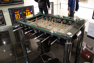 Grand magasin Harrods - Babyfoot de luxe