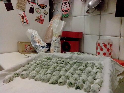 Homemade, gnocchi agli spinaci e ricotta by Ylbert Durishti