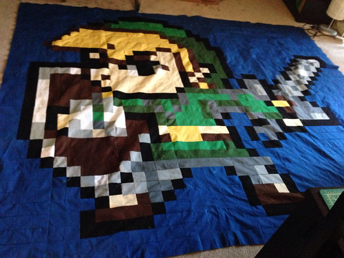Link quilt top done!